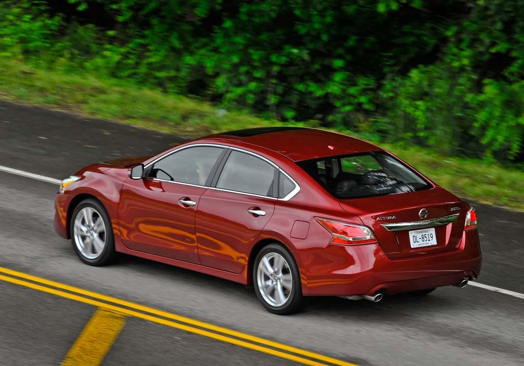 The 2013 Nissan Altima Is ...