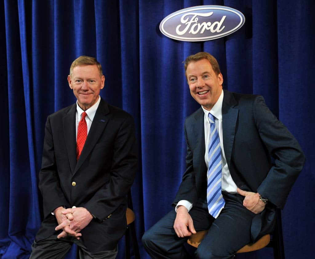 Bill ford insists ceo mulally will remain in detroit for Ford motor company alan mulally