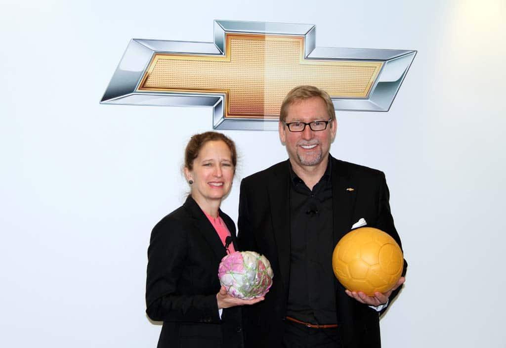 GM Kicks in on Global Soccer Charity Program