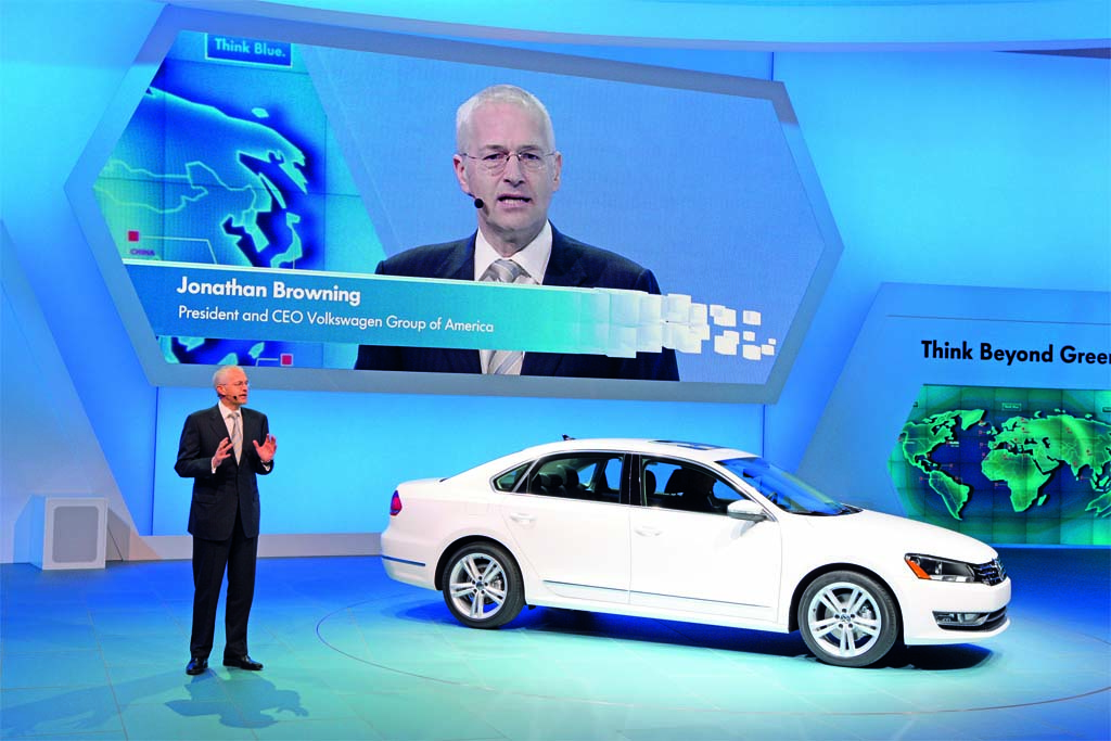 "New Volkswagen Midsize SUV ""Under Discussion"""