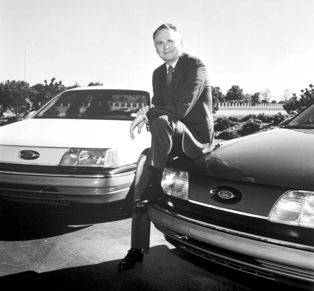 Harold red poling dead at 86 for Ford motor company retiree death benefits