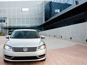 Volkswagen aims to take over the title of world's biggest automaker with cars like the new Passat.