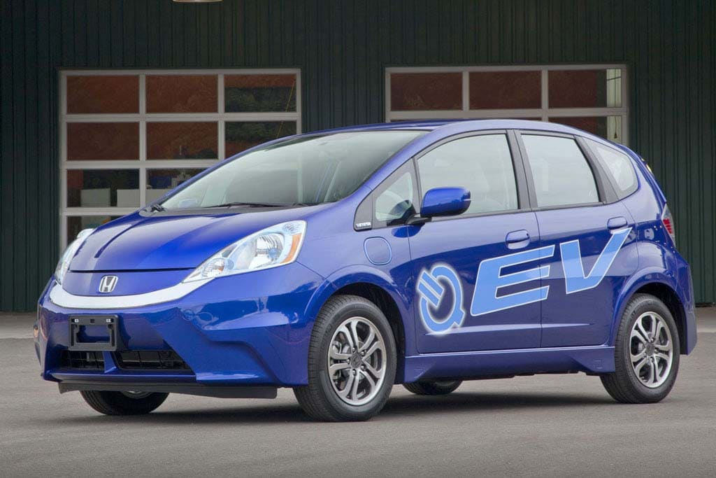 Honda Fit EV gets best-ever 118 MPGe rating
