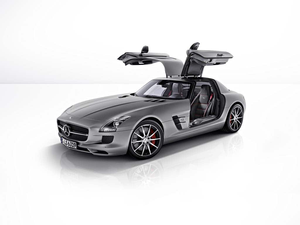 Delicieux The Renamed 2013 Mercedes Benz SLS AMG GT Gets 20 More Hp And An Upgraded  Suspension.