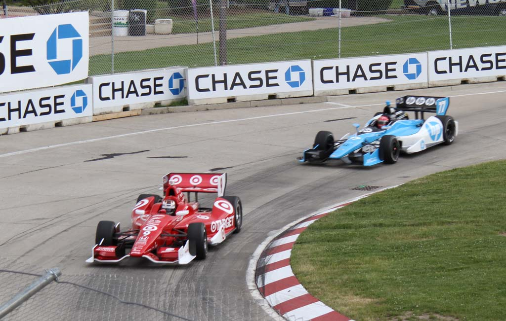 Track Damage Nearly Wrecks Detroit IndyCar Race | TheDetroitBureau.com
