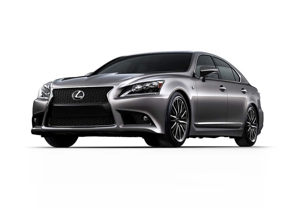 First Look: 2013 Lexus LS 460