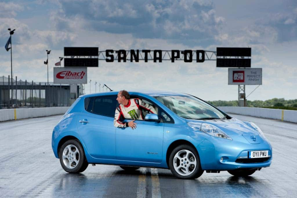 Nissan Leaf Sets Speed Record – in Reverse | TheDetroitBureau.com