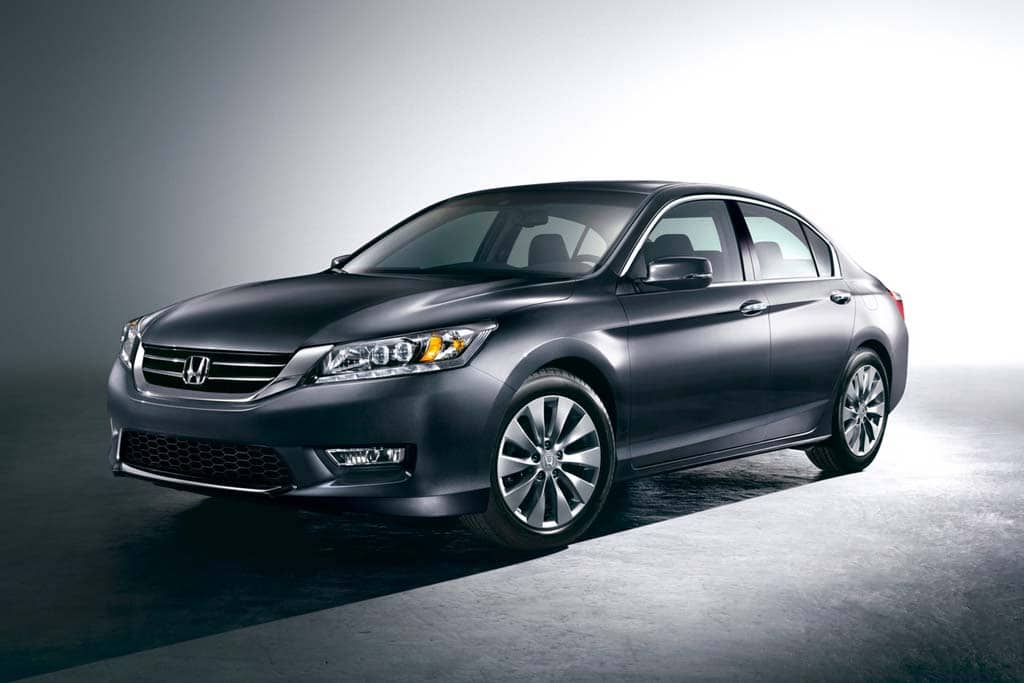 Honda releases the first images of the production 2013 Accord sedan.
