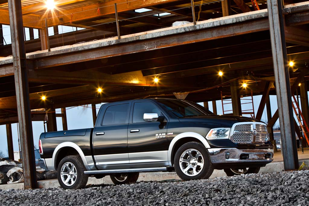 Chrysler to Add High-Mileage Diesel for Ram 1500