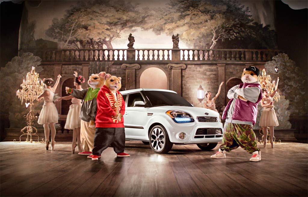Roll Over Beethoven, the Kia Hamsters Are Back