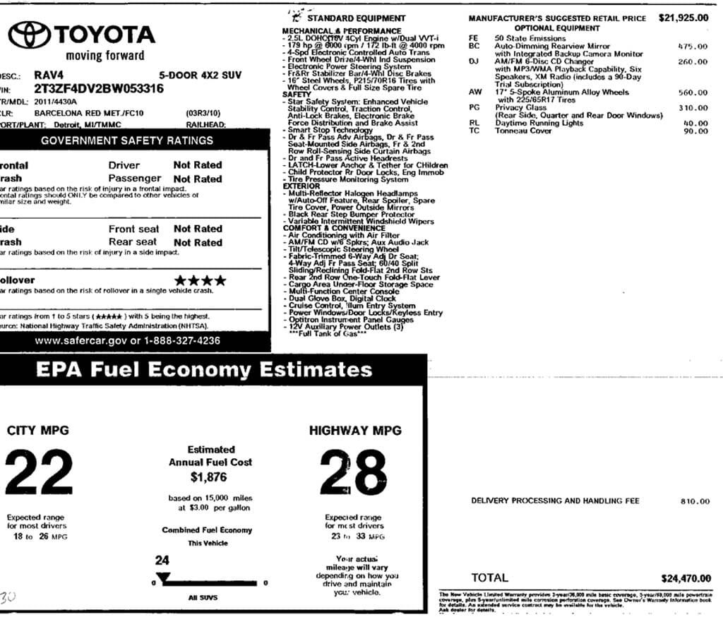 Shift Points Epa Testing Of Manual Transmissions Why Beating Mt Electric Car Conversion Project Forkenswift Page 69 Fuel Economy 2011 Toyota Rav4 22 18 26 28 23 33