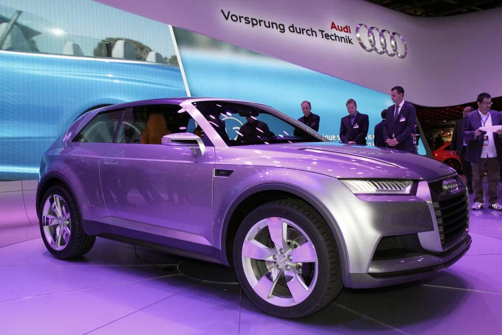 First Look: Audi Crosslane Coupe Concept