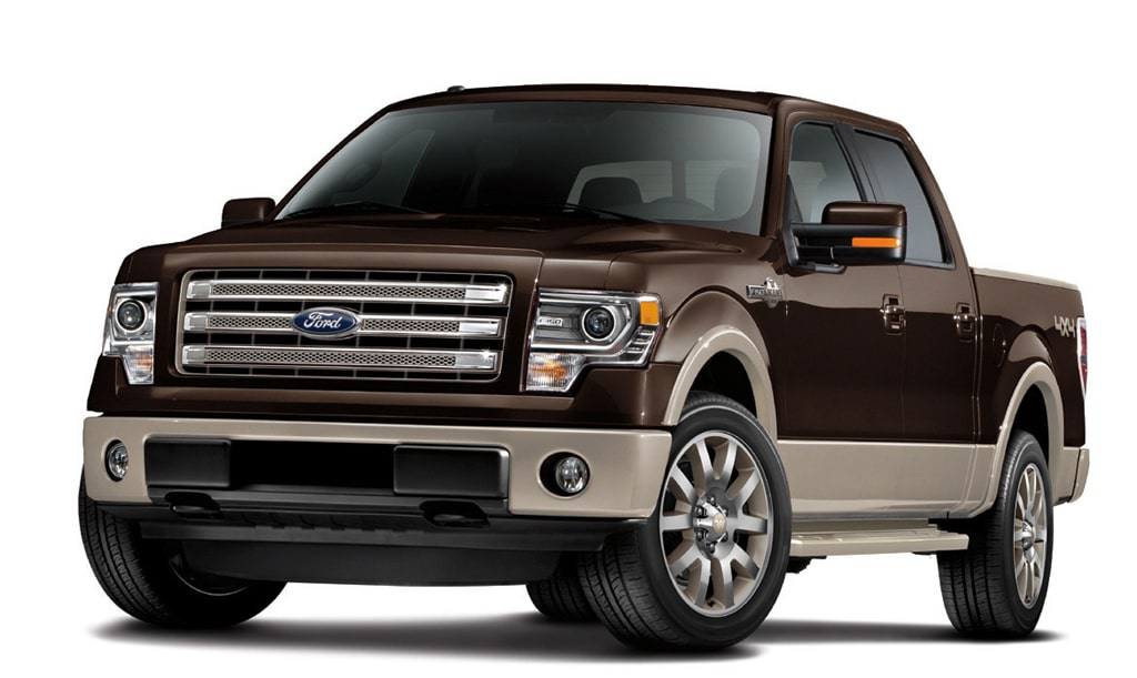 Ford's F-150 Fit for a King — Ranch, That Is