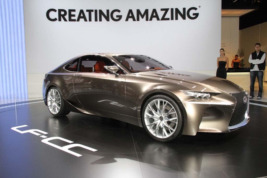 First Look: Lexus LF-CC Concept