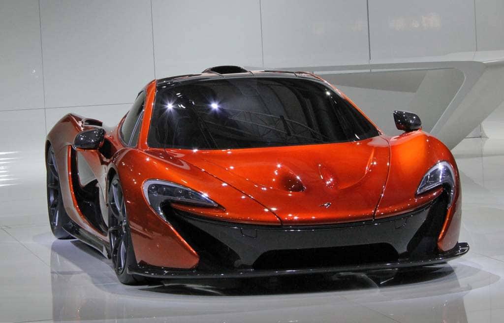 """McLaren Unleashes P1 """"Ultimate Supercar"""""""