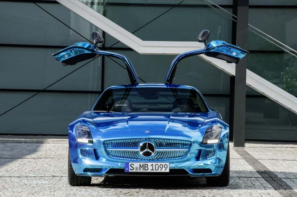Mercedes Plugs in with SLS AMG Electric Drive