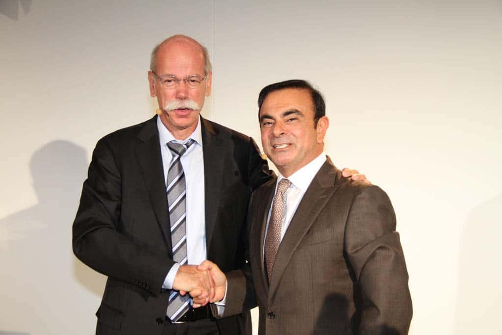 Daimler, Nissan and Renault Expand Global Alliance