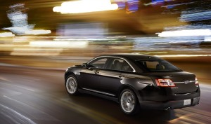 Taurus adds Torque Vectoring Control, which uses smart brake control to help the car smoothly accelerate through curves, which helps build confidence for drivers.