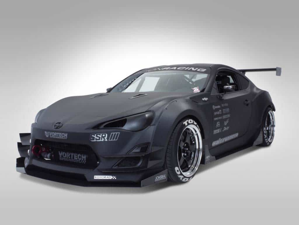 scion unveils three fr s concepts for sema. Black Bedroom Furniture Sets. Home Design Ideas