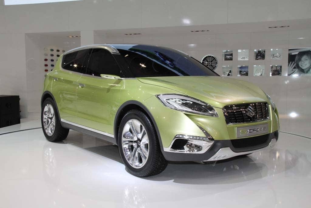 First Look: Suzuki S-Cross