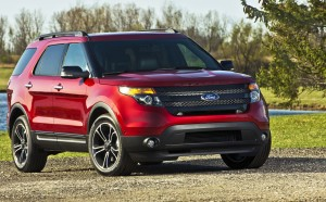 The Ford Explorer Sport is the perfect vehicle for conquering the concrete jungle.