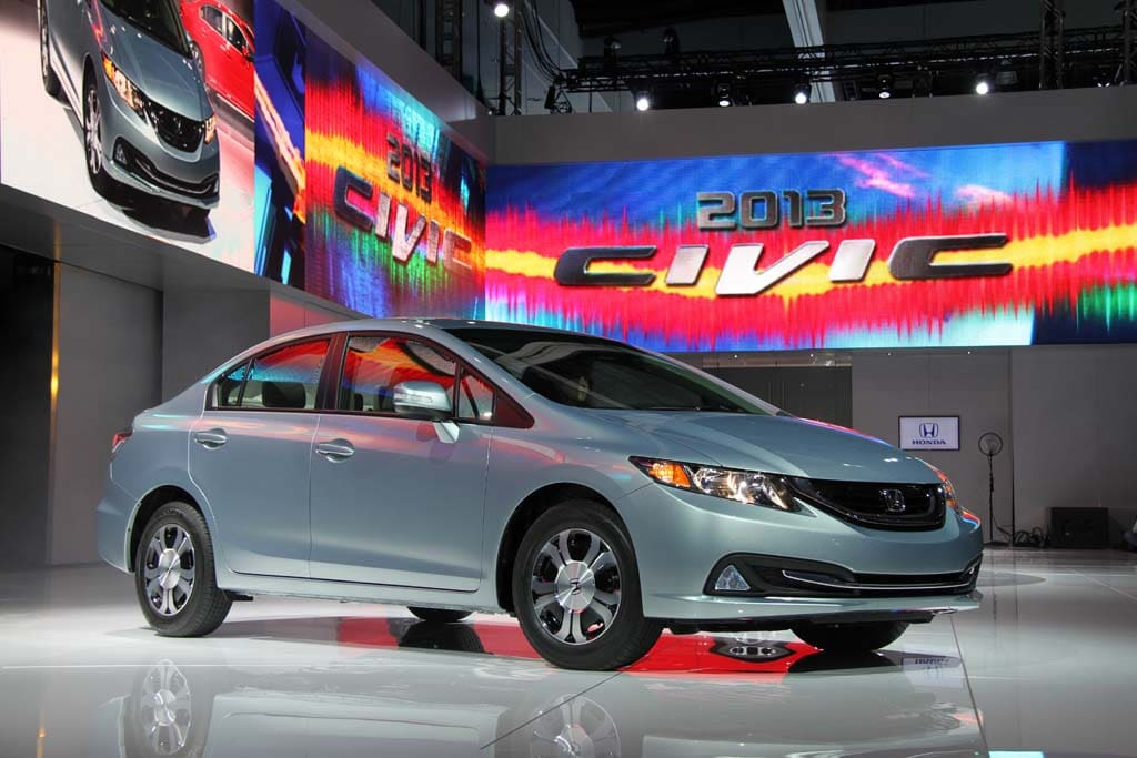 Honda Unveils Updated 2013 Civic