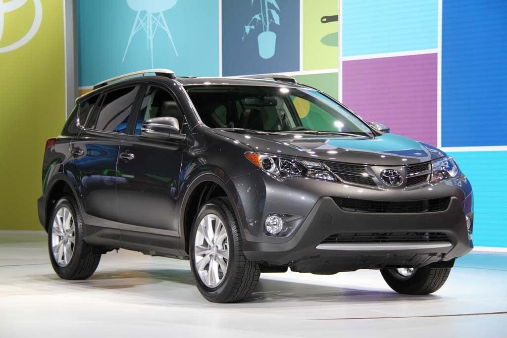New Toyota RAV4 Grows Up