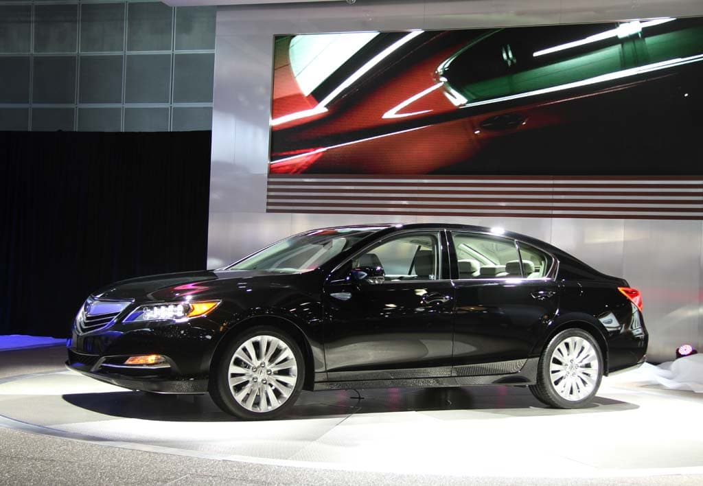 Acura Aims to Redefine Itself with RLX Flagship
