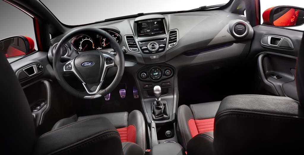 Kia Performance Center >> Ford to Add High-Performance Fiesta ST Model 2014 Ford Fiesta ST - interior – TheDetroitBureau.com