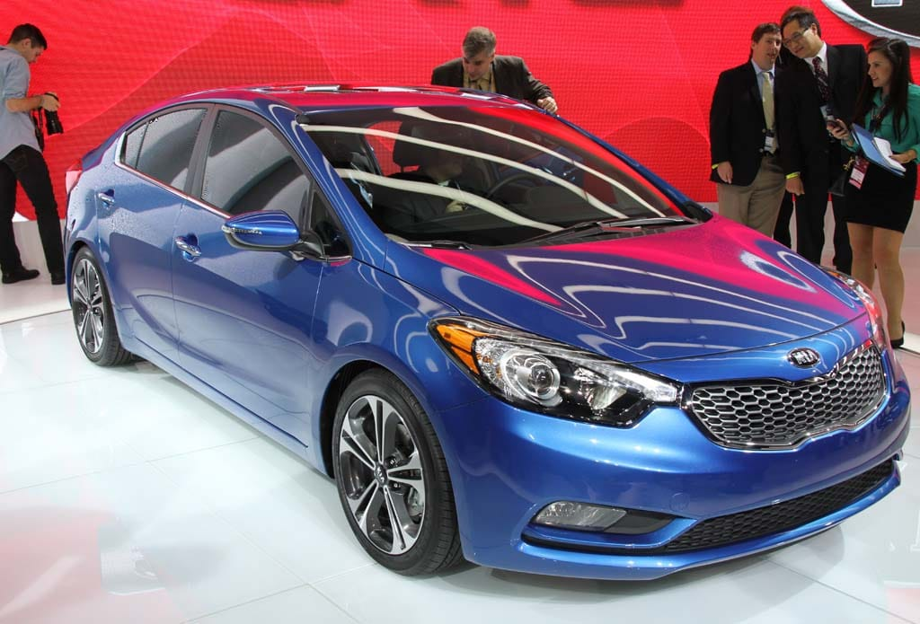 First Look: 2014 Kia Forte