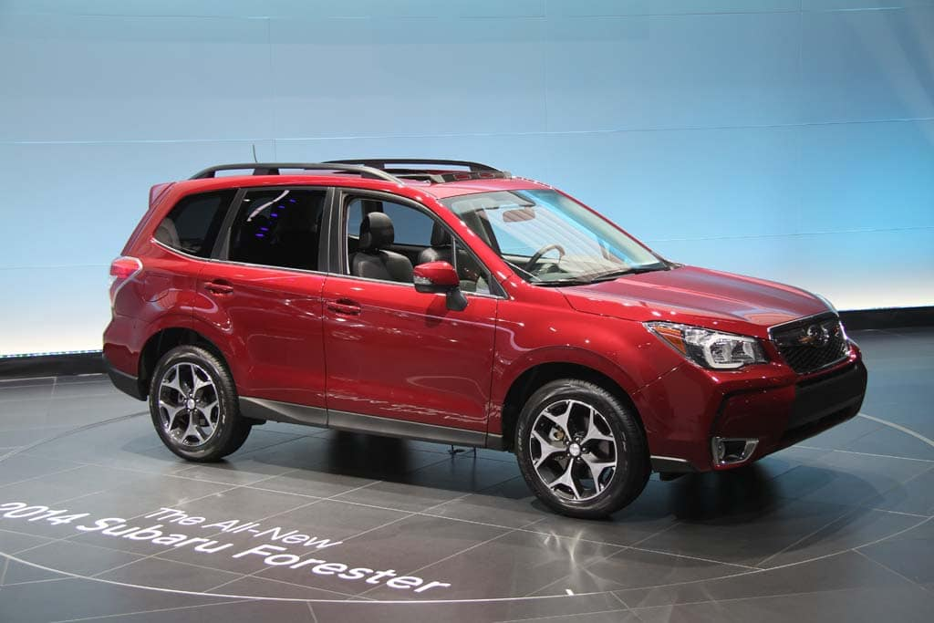 Subaru Betting Big on New Forester