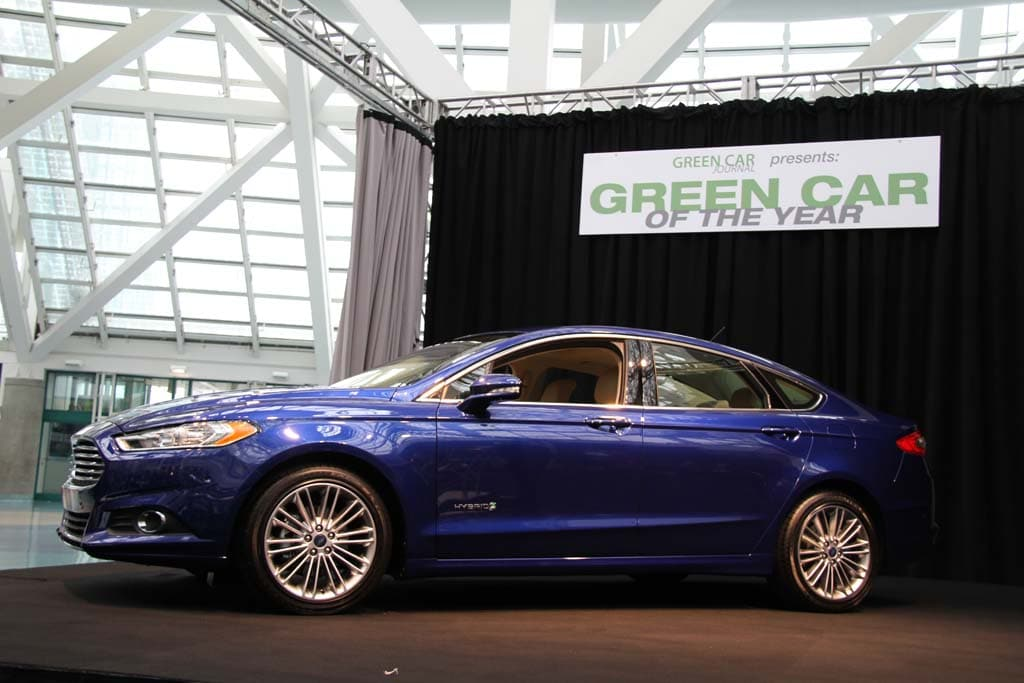 Ford Fusion Nabs Green Car of the Year Award