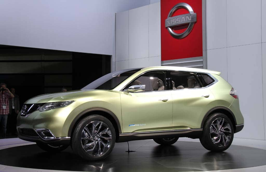 Nissan Hi-Cross Concept is Thinly-Disguised, Next-Generation Rogue