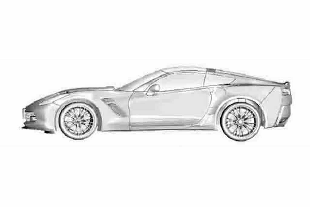 Leaked C7 Corvette Renderings Reach Web