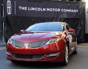 The 2013-14 Lincoln MKZ is part of a recall for a faulty door latch. The action involves about 211,000 vehicles.