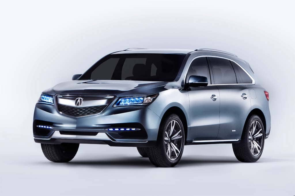 first look 2014 acura mdx prototype. Black Bedroom Furniture Sets. Home Design Ideas