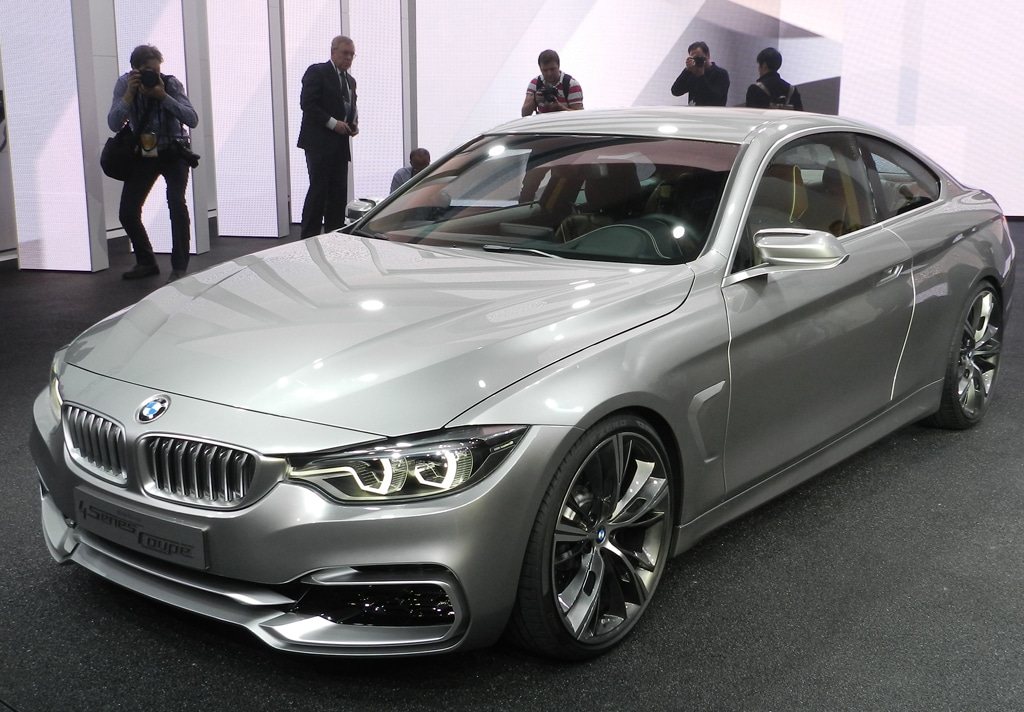 BMW 4-Series in the Flesh in Detroit