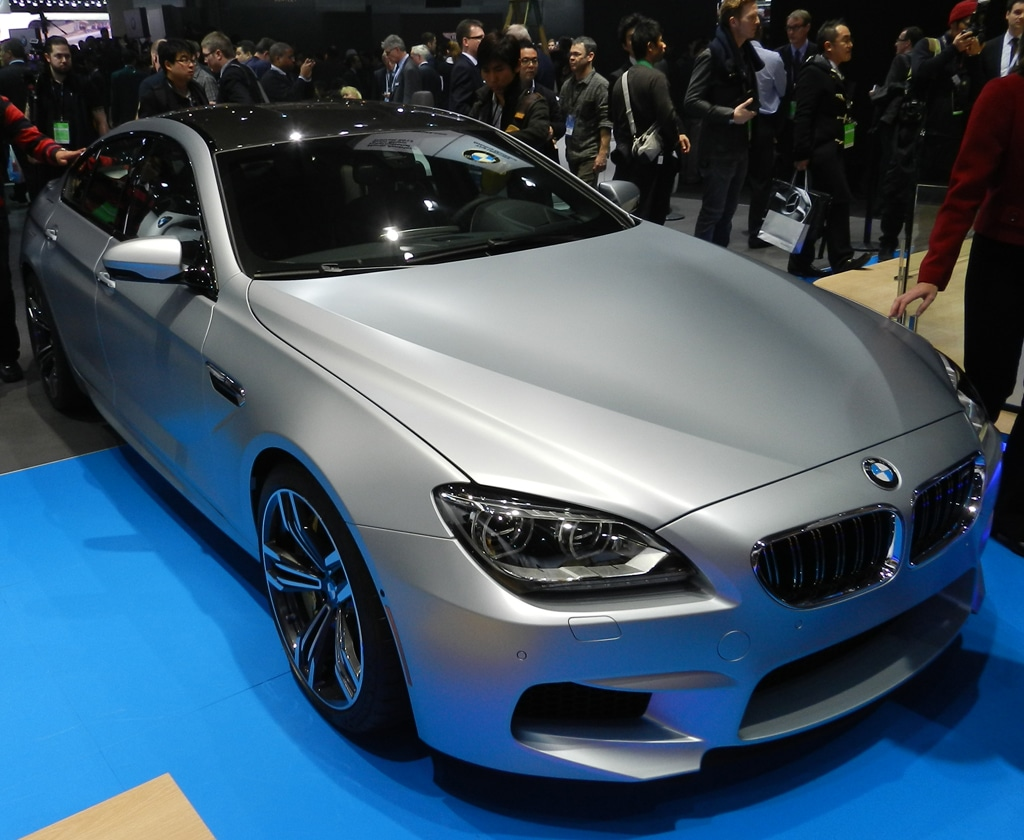 BMW Reveals M6 Gran Coupe in Detroit
