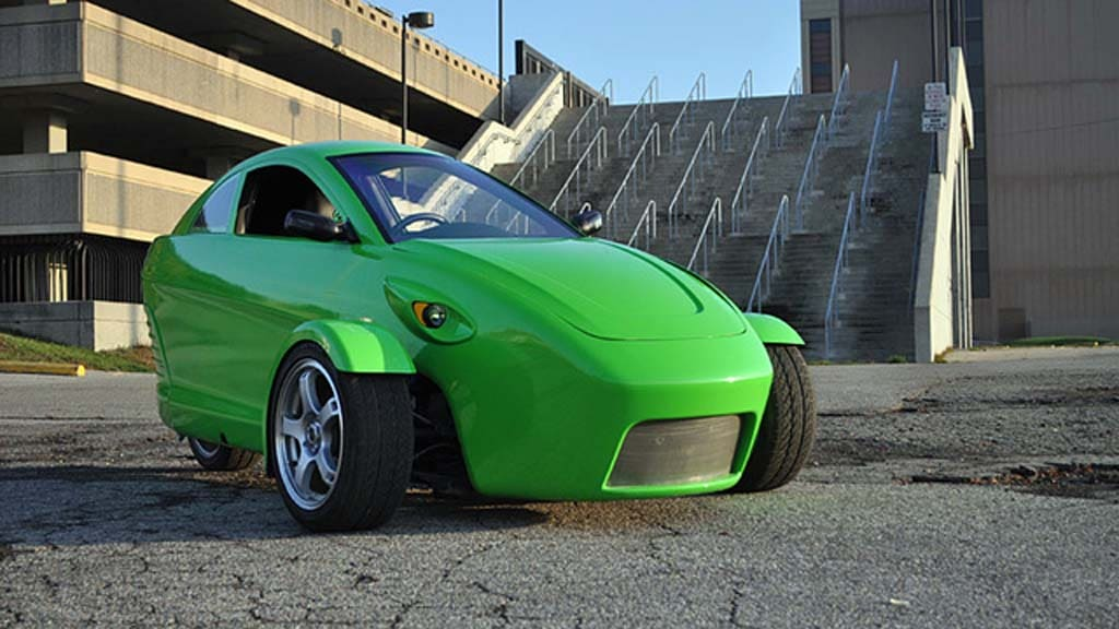 Elio Motors Sets Sights High With 3-Wheel Car