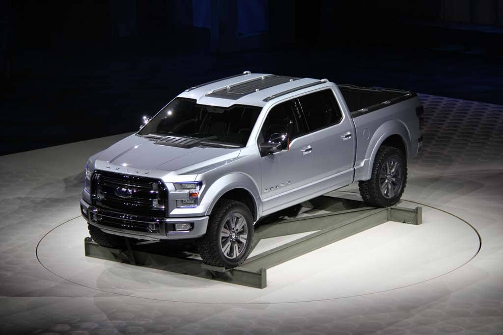 Ford's Aluminum F-150 a Likely Star at Detroit Auto Show ...