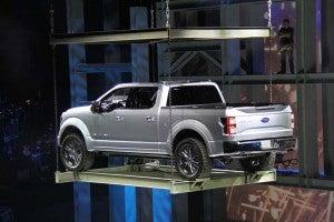 Ford s aluminum f 150 a likely star at detroit auto show for Atlas car aluminium