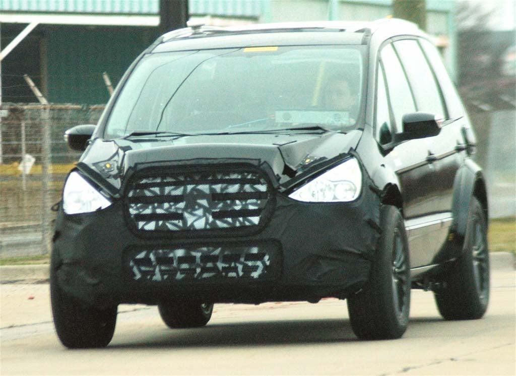 Spy Shots: Ford Galaxy Van