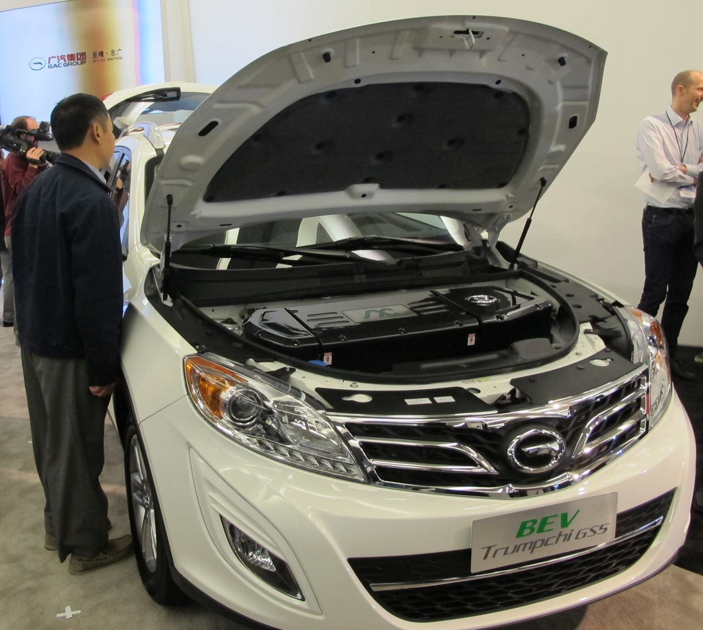 Guangzhou Shows Three Vehicles in Detroit