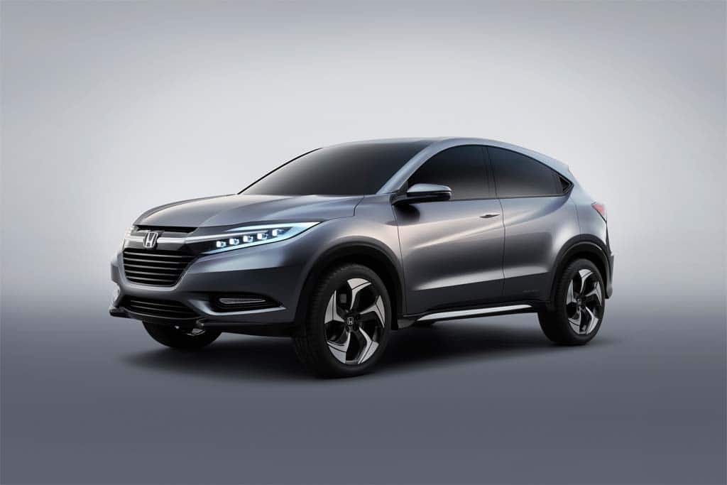 Honda Urban SUV Concept Introduced