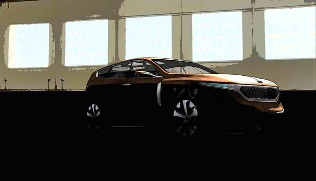 Kia Provides Peek at Cross GT Concept