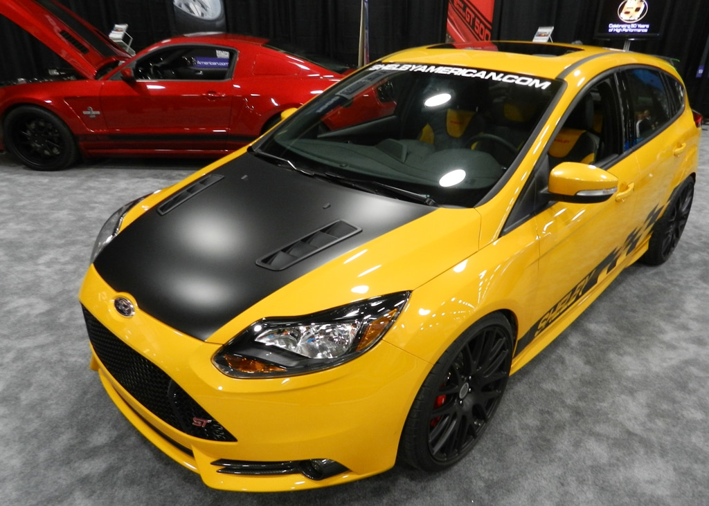 Shelby Focus ST and GT500 Wide Body Unveiled