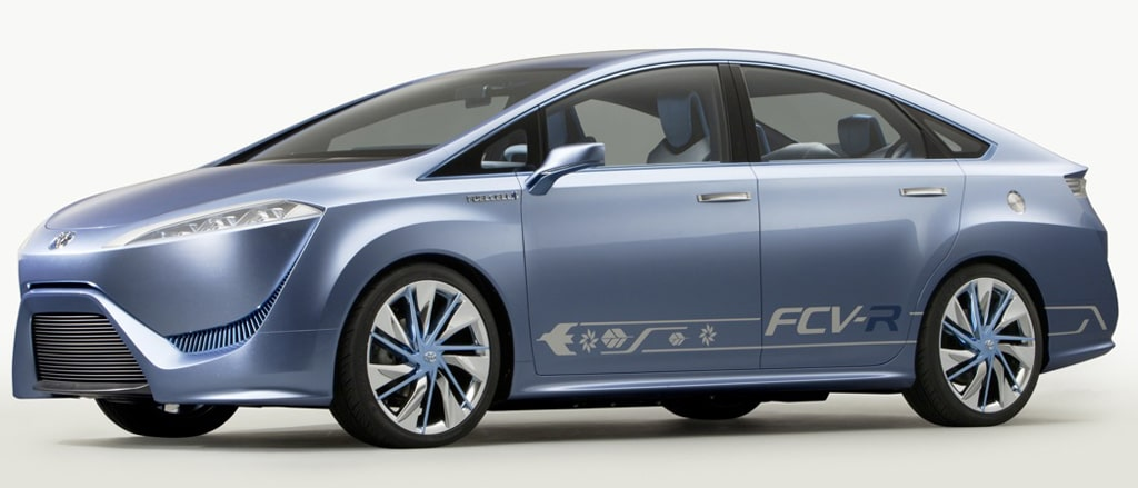Toyota S 2015 Hydrogen Car To Boast 300 Mile Range