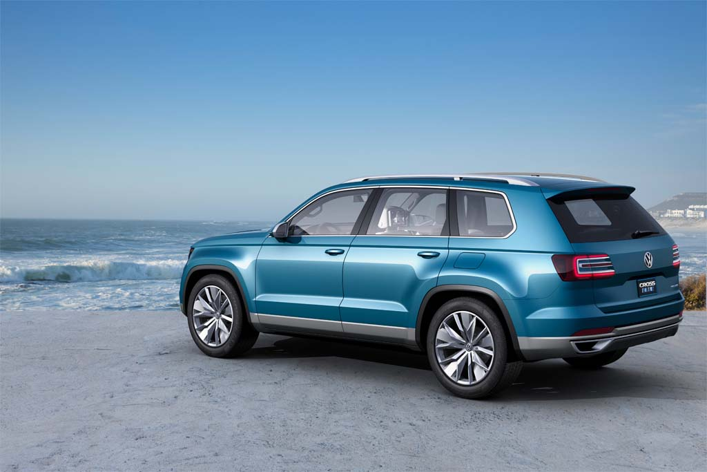 Vw Reveals Crossblue Midsize Suv Concept Volkswagen