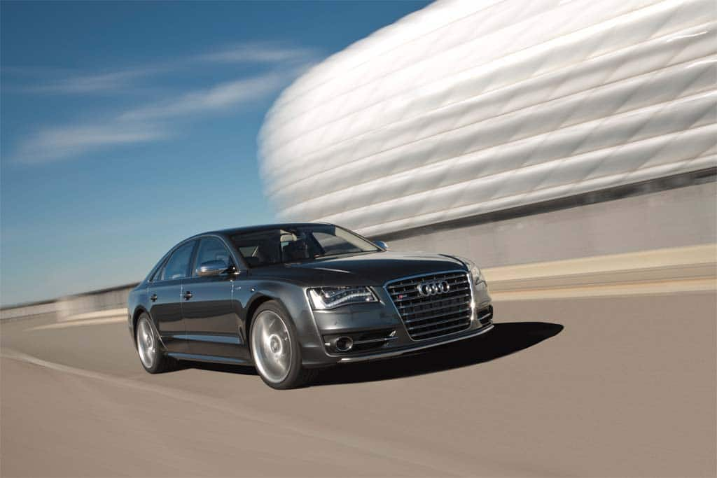 First Drive:2013 Audi S8