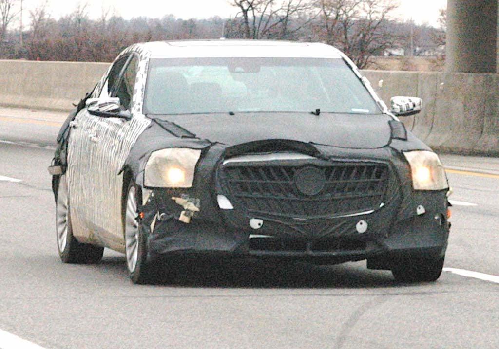 Spy Shots: 2014 Cadillac CTS